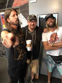 Foo Fighters Set To Kick Ass Live At Cal Jam 18