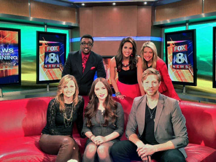 Eden's Edge stops by Cleveland's Fox 8 News   Country Artist