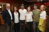 Dierks Bentley And Ross Copperman At ACM Lifting Lives Music Camp