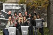 Chris Janson And Team Celebrate 'Fix A Drink'