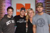 Dustin Lynch Stops By 'Ty, Kelly & Chuck'