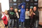 Garth Brooks Celebrates With WNSH/New York