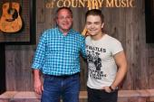 Hunter Hayes Visits Academy Of Country Music