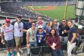 Levon Enjoys A Chicago Cubs Game