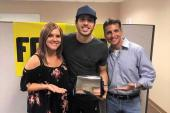 Morgan Evans Visits WOGI/Pittsburgh