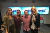 Runaway June Hangs With WBWL/Boston