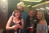 Toby Keith Hangs With Friends In Green Bay
