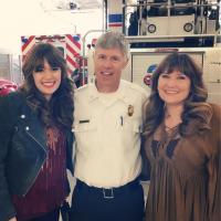 Belles & Whistles Honor Firemen