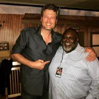 Blake Shelton Hangs With KNTY/Sacramento