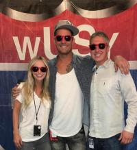 Brett Young Visits WUSY/Chattanooga At Riverbend Festival