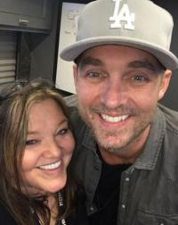 Brett Young Hangs With WIVK/Knoxville