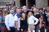 Delta Rae Performs During Total Solar Eclipse