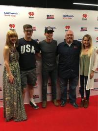 Granger Smith Hangs With Friends At WMZQ/Washington, D.C.