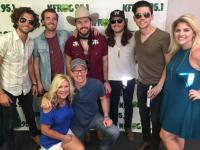 LANCO Hangs With Radio At Stagecoach