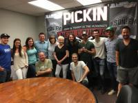 Levon Helps KSON/San Diego Celebrate Greg Raneiri