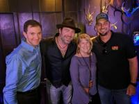 Lee Brice Parties With KKGO/Los Angeles