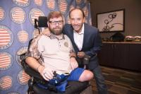 Lee Greenwood Receives Point Of Light Award