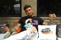 Michael Ray 'Sips N' Shaves' At The Warner Sound Presented By BIC Flex5 Hybrid