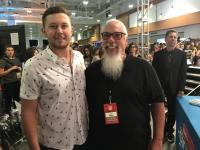 Scotty McCreery Catches Up With Spotify's John Marks