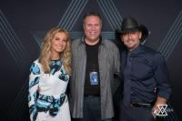 Tim And Faith Hang With KXKT's Hoss Michaels