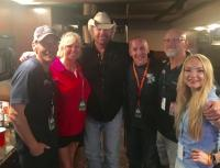Toby Keith Hangs With WKHX/Atlanta