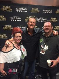 Blake Shelton Makes 'Music And Miracles'