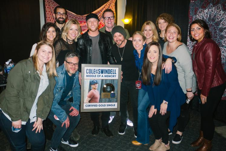 Warner Bros , WMN, Cole Swindell, RIAA, Gold Certification