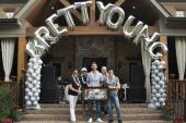 Brett Young Celebrates Platinum Status