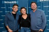 Carly Pearce And Michael Ray Visit SiriusXM