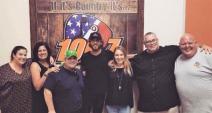 Chris Janson Surprises KJUG/Visalia, CA Listeners