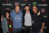Cole Swindell Hangs With WJVC/Nassau