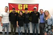 Granger Smith Visits KKGO/Los Angeles