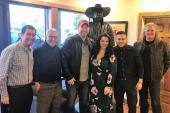 Krystal Keith & Lance Carpenter Visit KUZZ/Bakersfield