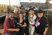 Runaway June & Jimmie Allen Take The Stage In Texas