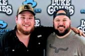 Luke Combs Hangs With WDZQ/Decatur, IL