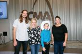 Mason Ramsey Visits CMA