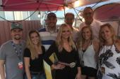 Miranda Lambert Hangs With Radio Friends