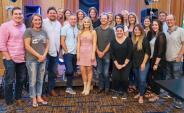 Rachel Wammack Celebrates With Sony Nashville Family