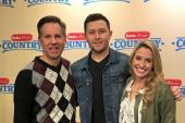 Scotty McCreery Hangs With Radio Disney Country