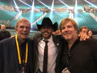 Aaron Watson Hangs With Bob Kingsley, Jack Ingram At The ACMs
