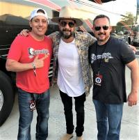 AJ McLean Hangs With KHKI/Des Moines