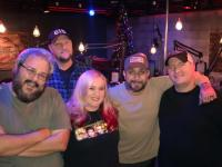 AJ McLean Hangs With Silverfish Media Squad
