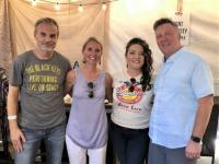 Ashley McBryde Stays Cool During CMA Fest