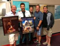 Brett Eldredge Celebrates RIAA Certifications