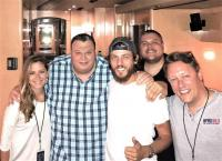 Chris Janson Hangs In Indianapolis