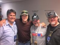 David Lee Murphy Celebrates Hitting #1 In Columbus