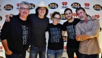 David Lee Murphy Hangs With WNOE/New Orleans