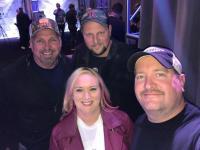 Garth Brooks Swings By 'CMA Awards' Radio Remotes