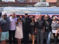 Jon Langston Hangs With WSOC/Charlotte Crew