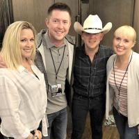 Justin Moore Catches Up With Radio Friends